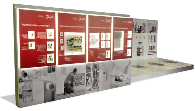 Выставочный стенд Danfoss