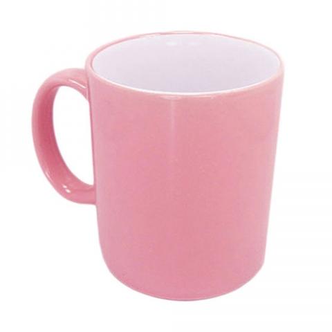 Чашка Combo розовая